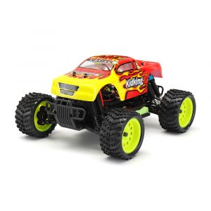 HSP 94186 1/16 2,4 G 4WD Elkraft Rc Bil Kidking Rc380 Motor Off-road Monster Truck RTR Toy