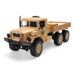 MZ YY2003 2.4G 6WD 1/12 Militär Lastbil Off Road RC Car Crawler Toy