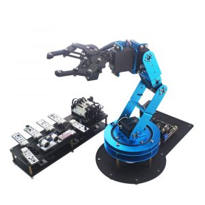 LOBOT STM32 Open Source DIY RC Robot Arm APP/Stick Control Compatible With Arduino
