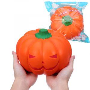 Humongous Squishy Giant Pumpkin 20cm Grönsaker Jumbo Toys Presentkollektion med förpackning