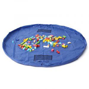 1,5 m stor bärbar leksak förvaringsväska barn barnrum snygg upp leksak väska mattor