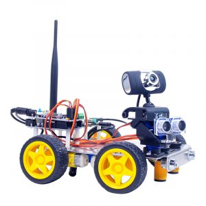 Xiao R DIY GFS WiFi Video Control Smart Robot Car Kit for  UNO
