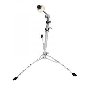 Zebra rostfritt stål trumma Cymbal stativ stativfäste Justerbar höjd slagverk Instrumentdelar