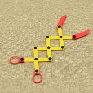 Nå ut robotarm Grabber Novelties Leksaker sax flexibel rolig leksak