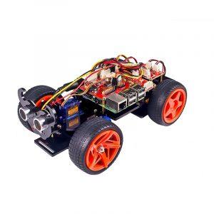SunFounder PiCar-S Raspberry Pi Smart Robot Car Kit Baserat grafiskt visuellt programmeringsspråk Elec