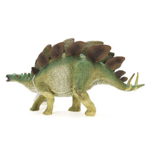 Cikoo Jurassic World Version Simulation Solid Stegosaurus Plastic Dinosaur Toys Model Boys Gift