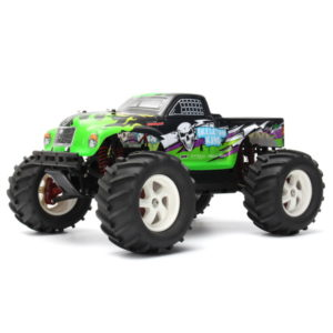 Pineal Model 1/8 2.4G Skelton King SG-801 Brushed Off-Road Truck Surpass Speed ​​RC Car