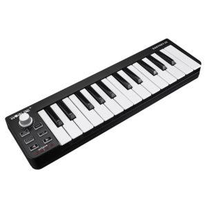 Worlde Easykey 25 Portable Electronic MIDI Keyboard Mini 25 Key USB MIDI Controller