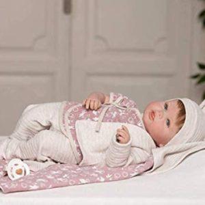 Lorette 46 cm Verklighetstrogna Silikon Återfödd Real Riktig Reborn Docka