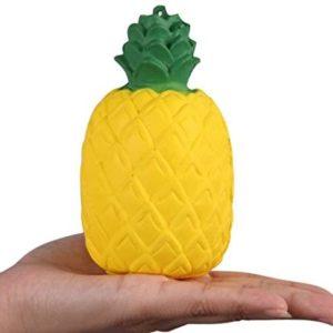 Squishies Ananas långsam Anti-stress  Frukt Pressa Leksak för barn och vuxna
