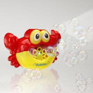 Crab Music Bubble Machine Bubble Maker Machine Bubble Blower Science Toys