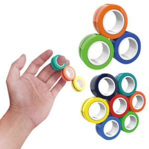 Magnetic Bracelet Magnetic Ring Decompression Adult Kid Toys
