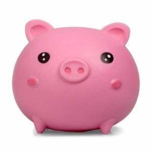Tobar 37047 SQUISHKINS Piggy, blandad