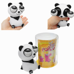 Novelties Toys Pop Out Stress Reliever Panda Squeeze Vent Toys Gift Toy With Box
