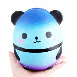 Squishie Teddy Bear stor söt barnleksak antistress Squishy Color Change Teddy Bear Kawaii mjuk