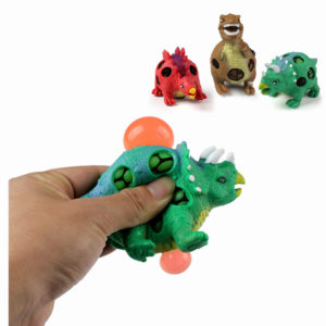 1PC TPR Squishy Dinosaur Jurassic Dinosaurs Squeeze Toy Presentkollektion Stressavlastare