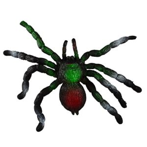 Realistisk spindel - Prank Toy Scary Simulation Animal Model -Big Soft Elastic (Stretch up to 3 Feet) - Stress Reliever ...