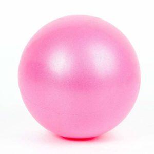 Wyi mini yoga pilates-boll, 25 cm (7 till 9 tum) mini träningsboll pilates fitness träning boll yoga terapi boll stabilitet boll för pilates med uppblåsbar strå, sportboll för fitness