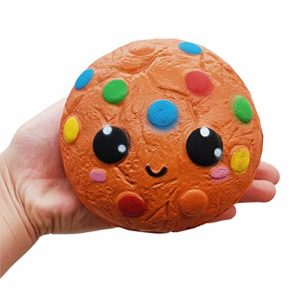Squishie kex söt barn leksak antistress squishy Cookie Kawaii mjuk