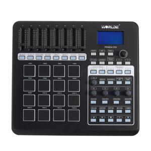 WORLDE PANDA200 bärbara 16 trumkuddar USB MIDI-kontrolltangentbord