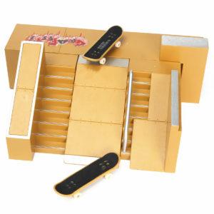 Skate Park Ramp Parts för Tech Deck Finger Board Finger Board Ultimate Parks 91C