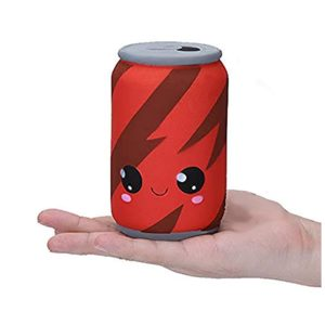 Squishie Cola burk söt barn leksak dryck långsamt stigande antistress squishy soda Slow Rising Squeeze Kawaii mjuk (7 x 7 x 12 cm)