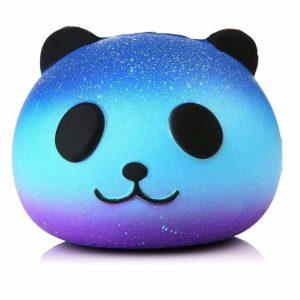 Squishie galax panda söt barn leksak gåva långsamt stigande anti-stress squishy galax panda långsamt stigande söt mjuk gåva