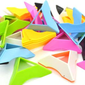 ABS plast Flerfärgad triangelkubbas ADHD Autism Minskar stressfokus Uppmärksamhetsleksaker