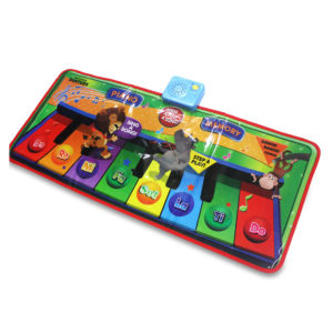 Foldable Piano Pad Early Education Carpet Singing Piano Music Carpet Mat for Children