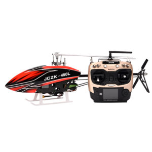 JCZK 450L DFC 6CH Flybarless One-Key Retur Fixed Point Hover Smart RC Helikopter RTF Med 380 Intelligent Fly System