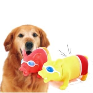 Big Size Trick Screaming Pig Funny Squeeze Sound Reduce Stress Pets Playing Tool