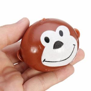 Smash-it Simulation Tricky Finger Vent Monkey Reduce Stress Toys For Kids Children Gift