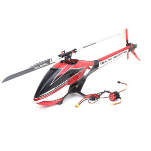 ALZRC Devil 380 FAST FBL 6CH 3D Flying RC Helicopter Standard Combo With 3120 Pro Brushless Motor 60A V4 ESC