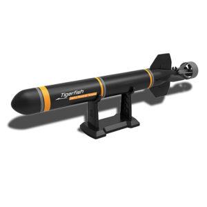 Elektriska RC ubåtbåt Torpedmonteringssatser DIY Utomhusleksaker Leksaker för barn Gåvor utforska havet
