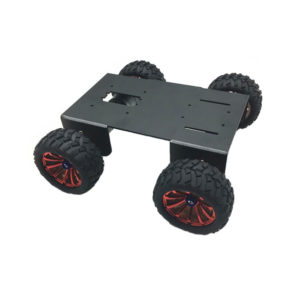 DIY A-18 4WD Smart Robot Car Chassis Kit For Raspberry Pi