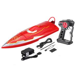 016 500mm 2.4G borstlös elektrisk RC -båt med vattenkylningssystem RTR -modell