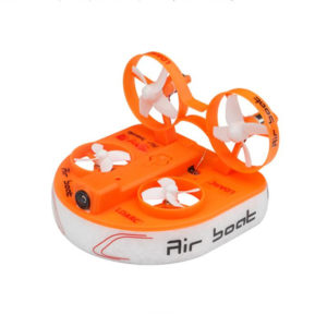 KINGKONG/LDARC Tiny Q FPV Air Boat RC Quadcopter With 5.8G 800TVL Camera F3 Flight Controller PNP
