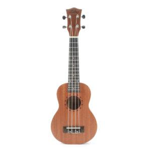 """Zebra 21"""" Soprano Ukulele Sapele 15 Frets Musical Wood Instrument"""